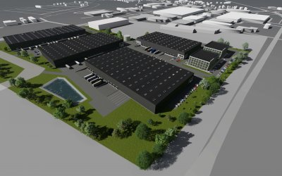 RO.SA.-Hale to build warehouse park with area of 12,000 sqm for TG Park in Radom