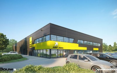 CoBouw will build warehouse with area of 2,500 sqm in Częstochowa for AMP Polska