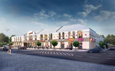 INBAP is seeking contractor for development by 9,200 sqm of Rywal shopping center in Biała Podlaska