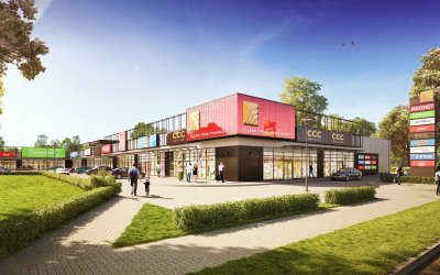 Redmill will build retail park in Olecko