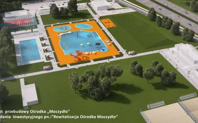 "SCS is seeking contractor for modernization of ""Moczydło"" swimming pools complex"