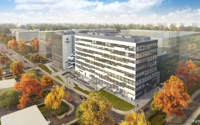 "Strabag is going to build ""Pin Park"" office complex"