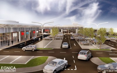 Saller will build a 2,600-sqm retail park in Legnica