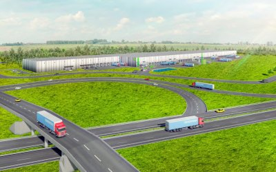 Goodman will construct 417,000 meters³ of warehouses in Wypędy