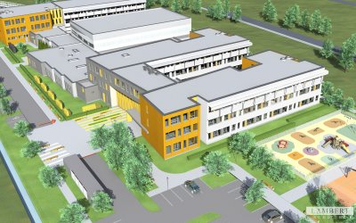UD Warsaw-Białołęka is seeking contractor for school complex
