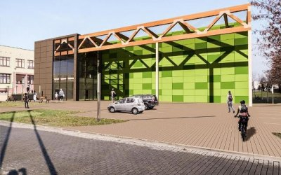 Cechini will carry out sports hall in Knurów