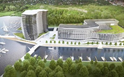 Tian Yu/Recca is going to build Maritim hotel complex in Szczecin