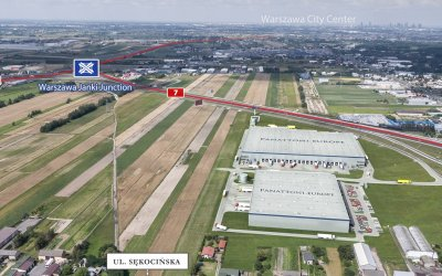 Panattoni and Marvipol will build 38,000 sqm of warehouses in Sękocin