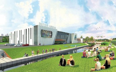 Consortium of Banimex / Azi-Bud is going to build sports hall in Będzin