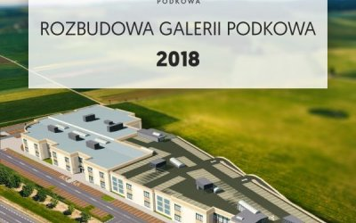 Galeria Podkowa is preparing extension of shopping center in Podkowa Leśna