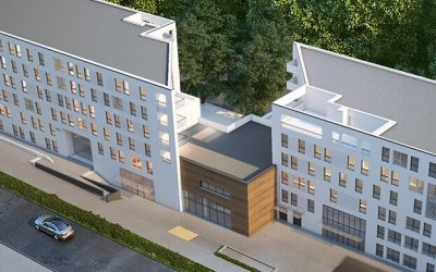 Mega to erect Silver Rock dorm in Gdańsk