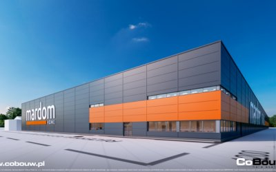 CoBouw is going to build production-warehouse complex