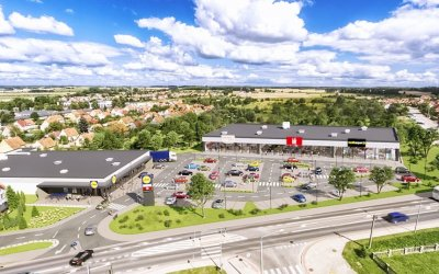 RWS is going to build retail complex  in Węgorzewo