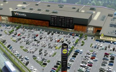 "Błysk in collaboration with SP Cienciała will build ""Galeria Wiślanka"""