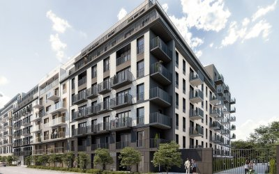 FB Antczak commences apartment complex in Łódź