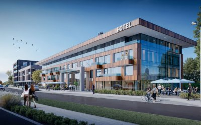 RWS is going to build hotel with 153 rooms in Gdańsk