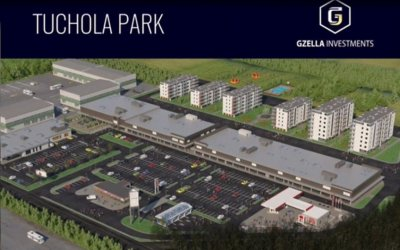 "Gzella plans construction of ""Tuchola Park"""