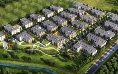 "Tasbud contracts II stage of housing estate ""Greenwood"""