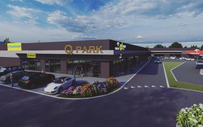 Jania Construction will build retail park
