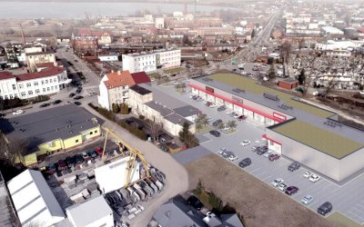 Agile Spol is going to build retail park in Żnin