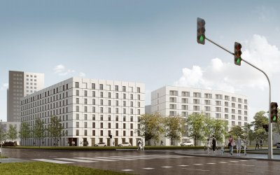Dorimtory with 350 rooms from Griffin in Gdańsk