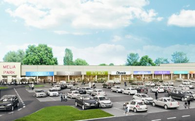 Shopping center is going to be built in Ostrów Maz.