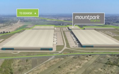 Mountpark plans logistics center near Stryków