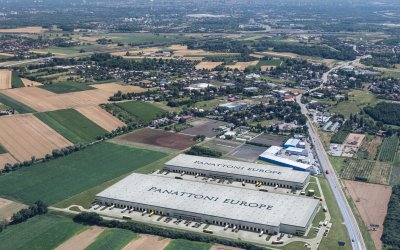 Panattoni erects warehouses north of Wrocław