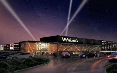 "Strabag is going to build ""Galeria Wiślanka"""