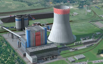 Mostostal Warszawa subcontractor of the power plant