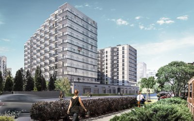 Unibep is going to build residential complex in Warsaw