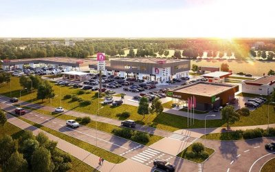 Q2 Studio is designing shopping center in Łany