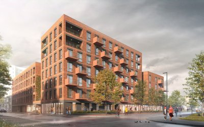 Alfa-Bet will build for Agena 108 flats in Warsaw