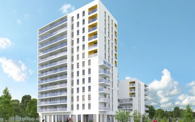Erbud will carry out building with approx. 130 flats