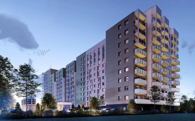 Develia will deliver 240 flats in Gdańsk
