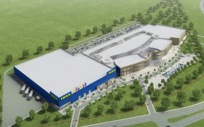 KKBud is supervising construction of IKEA shopping center