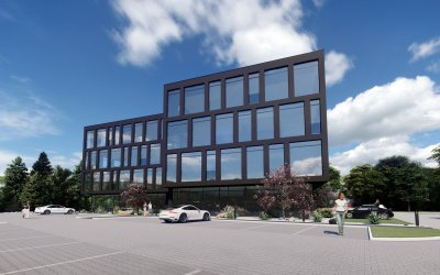 Qubb offices (3,700 sqm) will be erected in Bielsko