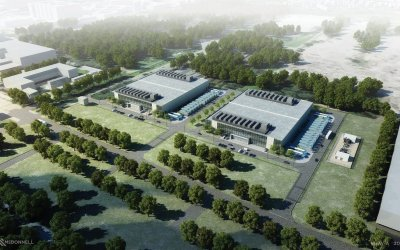 Vantage prepares data center in Warsaw