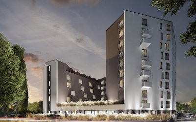 Rokla builds 360 flats for Kreator Dom