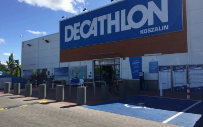 PM supervises works in Decathlon Koszalin