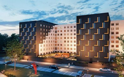 PFI Global prepares apart hotel in Wrocław