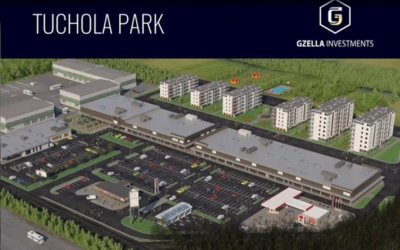 Gzella commenced construction of shopping center
