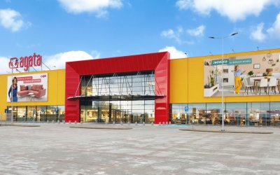 Agata erects i.a. with Pekabex a shop in Bydgoszcz