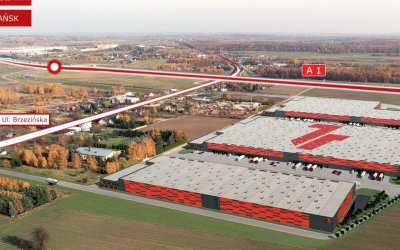 Kajima is building first stage of logistics complex in Łódź for 7R