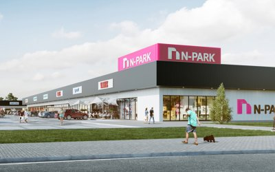 Trasko begins construction of N-Park shopping center