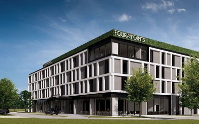 HotelAG is going to build Four Points by Sheraton