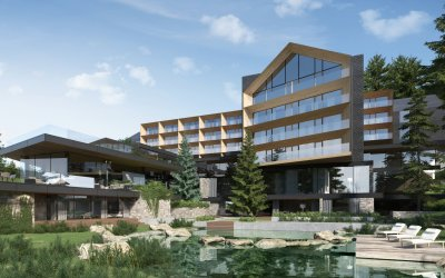 Rubaszkiewicz designs 300 rooms in Beskidy