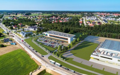 Green Hills will build a retail park in Gdynia