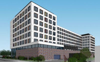 Grupa REB is planning construction of student hotel